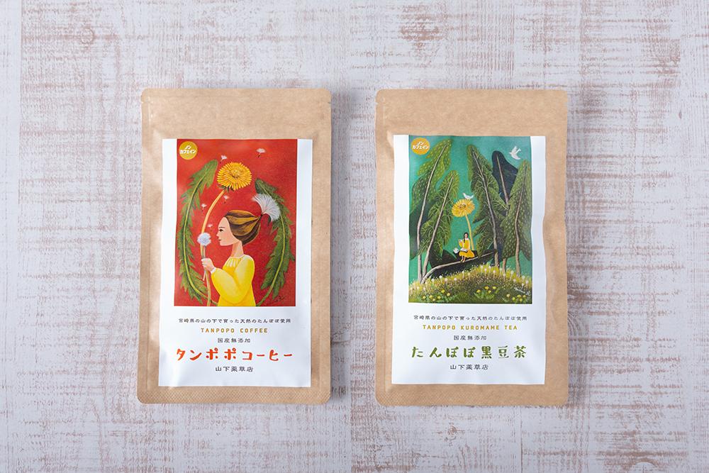 たんぽぽ黒豆茶